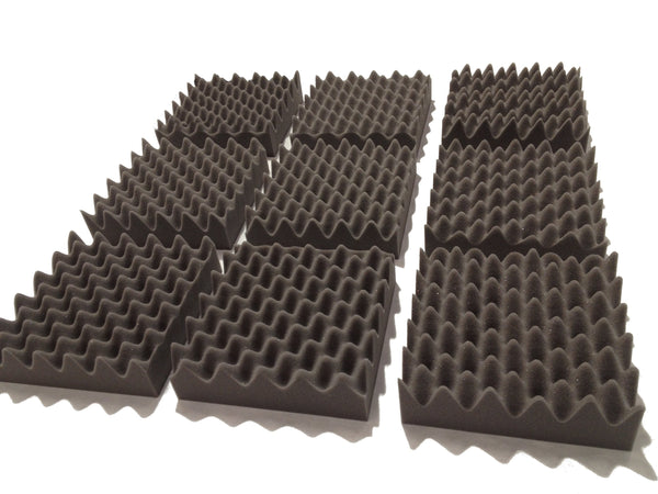 "F.A.T. PRO 10"" Acoustic Studio Foam Tile Pack - Advanced Acoustics"