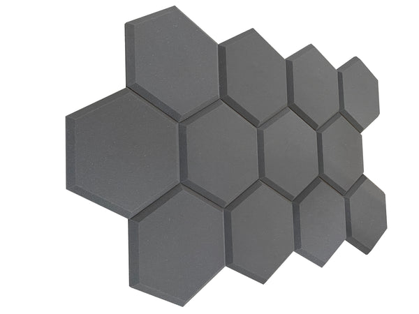 Hexatile2 Acoustic Studio Foam Tile Pack
