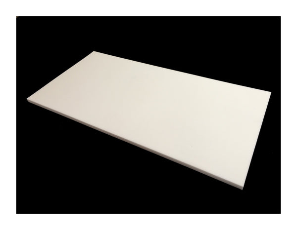 Mel-Acoustic Slab 25mm White Melamine Acoustic Foam Panel 600x1200 - Advanced Acoustics