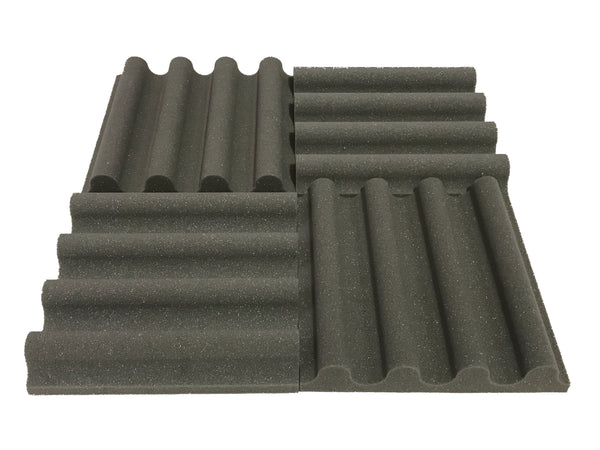 "Mini Wave 12"" Acoustic Studio Foam Tile Pack - Advanced Acoustics"