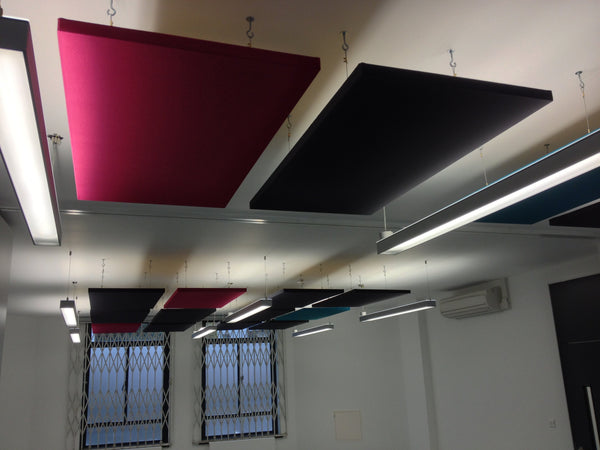 "2"" SoundControl Ceiling Suspended Acoustic Panel 2ft by 4ft - Advanced Acoustics"