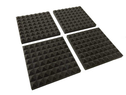 "Pyramid 12"" Acoustic Studio Foam Tile Pack"