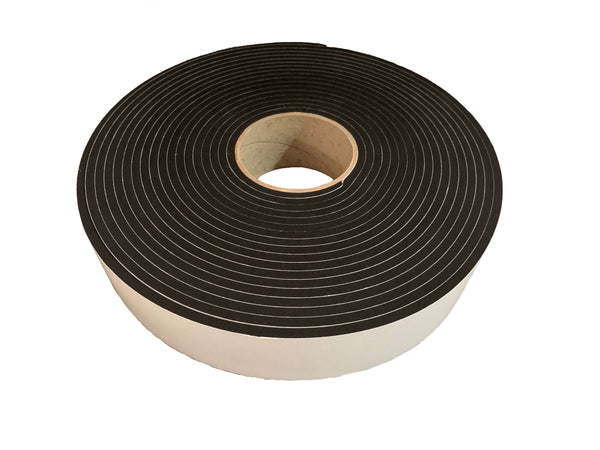 Resilient Sealing Tape - 5mm thick x 50mm wide x 10m long - Advanced Acoustics
