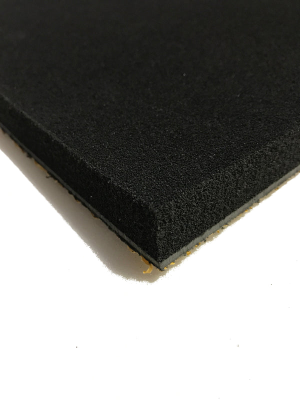Silent Panel 5kg/25mm 600x1200- Barrier Foam Composite Acoustic Panel Adhesive Backed - Advanced Acoustics