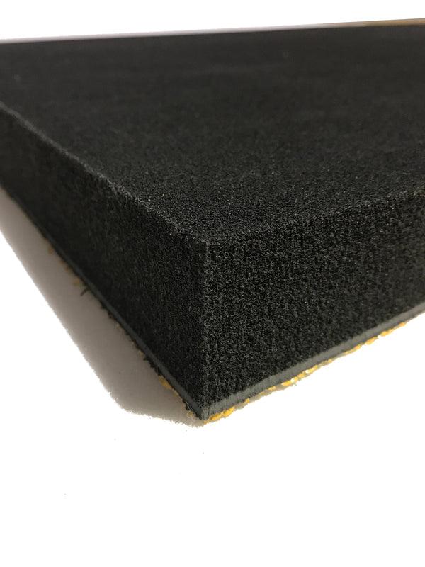 Silent Panel 5kg/50mm 600x1200- Barrier Foam Composite Acoustic Panel Adhesive Backed - Advanced Acoustics