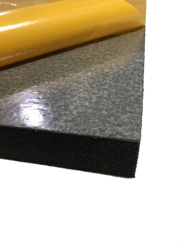 Silent Panel 10kg/50mm 600x1200- Barrier Foam Composite Acoustic Panel Adhesive Backed - Advanced Acoustics
