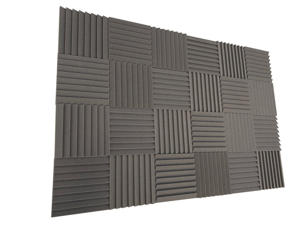 "Sawtooth 12"" Acoustic Studio Foam Tile Pack"