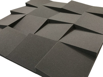 "Slider 12"" Acoustic Studio Foam Tile Pack"
