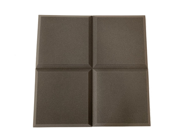 "Tegular 2"" Acoustic Studio Foam Tile Pack - Advanced Acoustics"