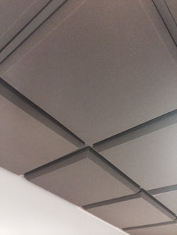 "Tegular 3"" Studio Acoustic Suspended Ceiling Tile Pack"