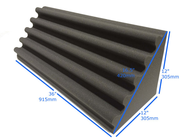 Wave Bass Trap 3ft Acoustic Studio Foam - Advanced Acoustics