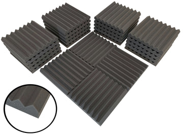 "Wedge 12"" Acoustic Studio Foam Tile Pack"