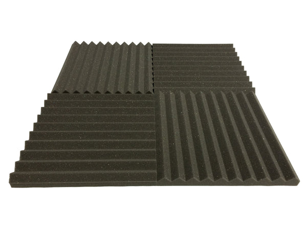 "Wedge 15"" Acoustic Studio Foam Tile Pack - Advanced Acoustics"