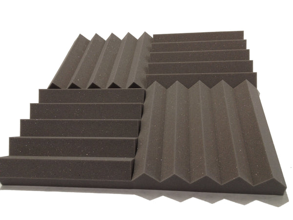 "Wedge PRO 15"" Acoustic Studio Foam Tile Kit - Advanced Acoustics"
