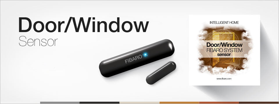 FIBARO Door & Window Battery Powered Sensor