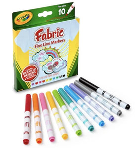 Crayola Fine Line Fabric Markers