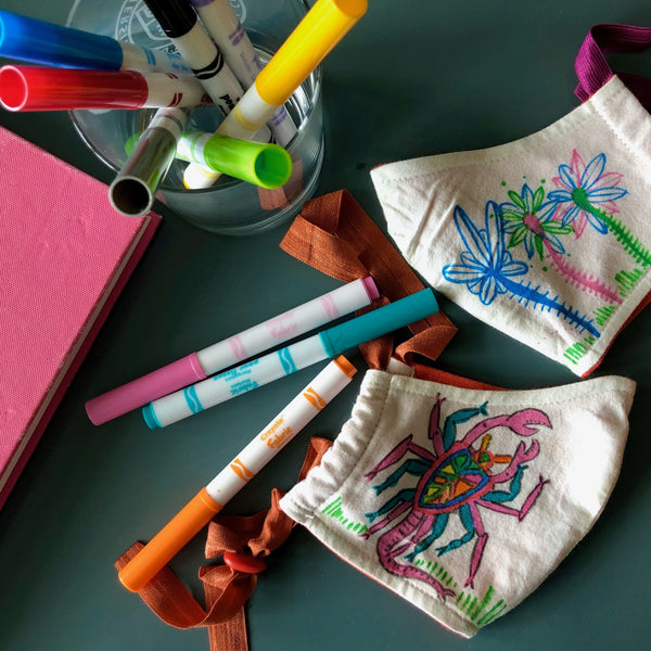 Design Your Own Organic Cotton BringIt! Mask and Fabric Markers