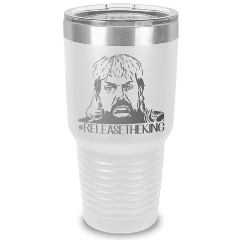 Release The King Laser Etched Tumbler