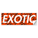 EXOTIC Decal
