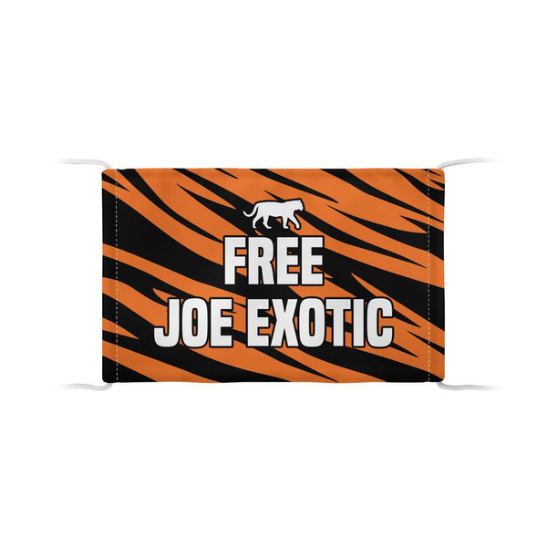 Free Joe Exotic Face Mask Official Tiger King Store