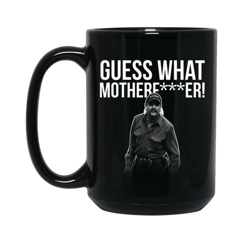 Guess What Mofo 15 oz. Coffee Mug (Black)