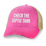 Check That Septic Tank Hat
