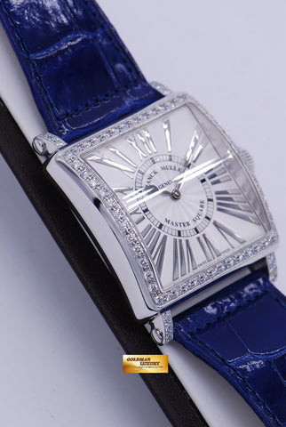 [SOLD] FRANCK MULLER MASTER SQUARE 6002H DIAMOND QUARTZ RELIEF (NEW-UNWORN)