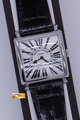 FRANCK MULLER MASTER SQUARE 6002m QUARTZ BLACK (NEW-UNWORN)