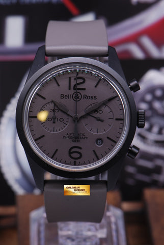 [SOLD] BELL & ROSS COMMANDO CHRONOGRAPH AUTOMATIC BRV-126 (MINT)