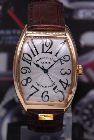 [SOLD] FRANCK MULLER CURVEX 18K ROSE GOLD 6850 SC AUTOMATIC (MINT)