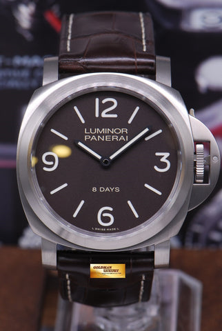 [SOLD] PANERAI LUMINOR TITANIUM 8 DAYS PAM 562 MANUAL (NEW-UNWORN)