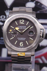 PANERAI LUMINOR MARINA TITANIUM PAM 296 AUTOMATIC (MINT)