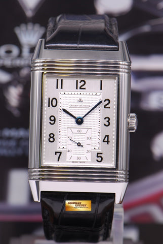 [SOLD] JAEGER LeCOULTRE REVERSO GRANDE STEEL MANUAL (MINT)