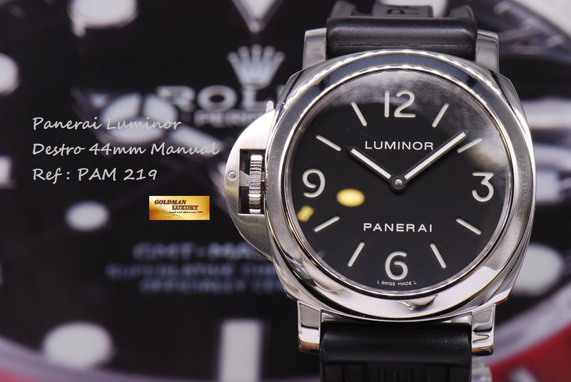 products/GML1066_-_Panerai_Luminor_Destro_Manual_PAM_219_MINT_-_15.JPG