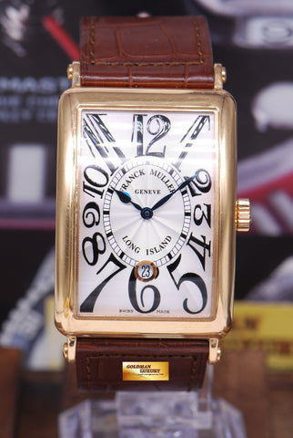[SOLD] FRANCK MULLER LONG ISLAND 18K ROSE GOLD Ref 1150 AUTOMATIC (NEAR MINT)