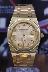 [SOLD] AUDEMARS PIGUET ROYAL OAK 18K YELLOW GOLD 35mm QUARTZ (NEAR MINT)