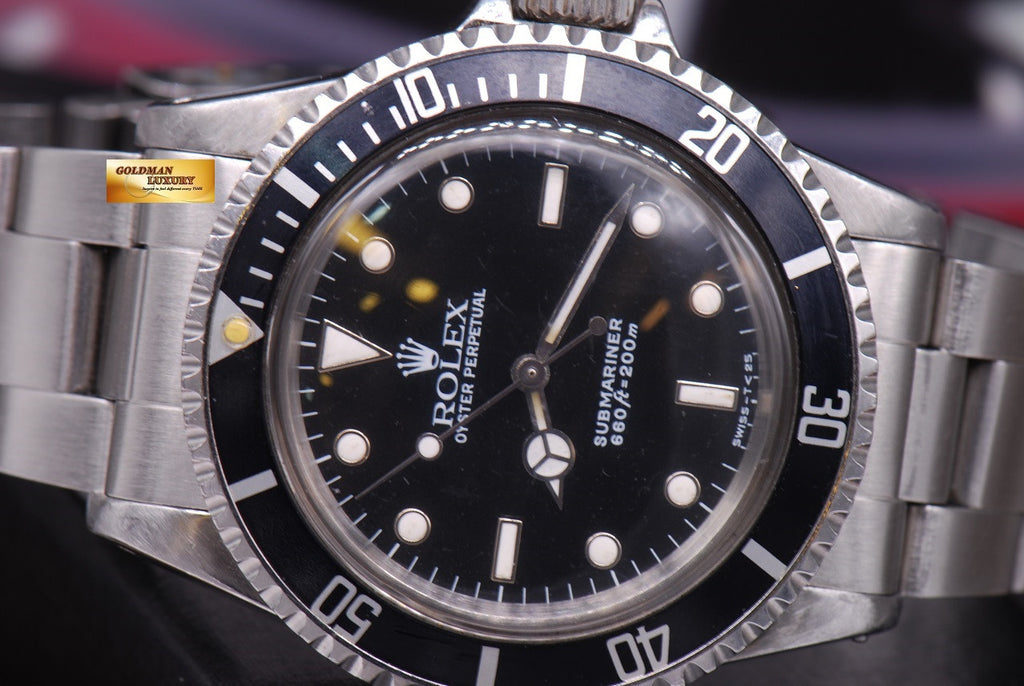 SOLD] ROLEX OYSTER PERPETUAL SUBMARINER NO,DATE Ref 5513