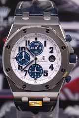 [SOLD] AUDEMARS PIGUET ROYAL OAK OFFSHORE 44mm CHRONOGRAPH NAVY AUTOMATIC (MINT)