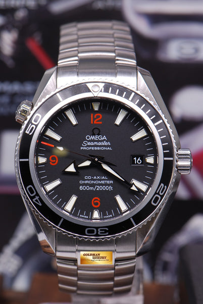 Vintage Tudor Watches >> [SOLD] OMEGA SEAMASTER PLANET OCEAN 42mm CO-AXIAL ...