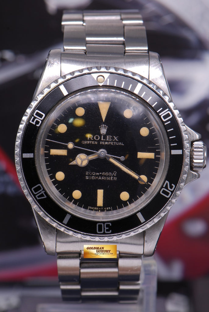 SOLD] ROLEX OYSTER PERPETUAL SUBMARINER NO,DATE METER FIRST