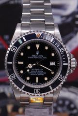 "ROLEX OYSTER PERPETUAL SEA-DWELLER ""TRIPLE-SIX"" GLOSS DIAL Ref 16660 (AGING)"