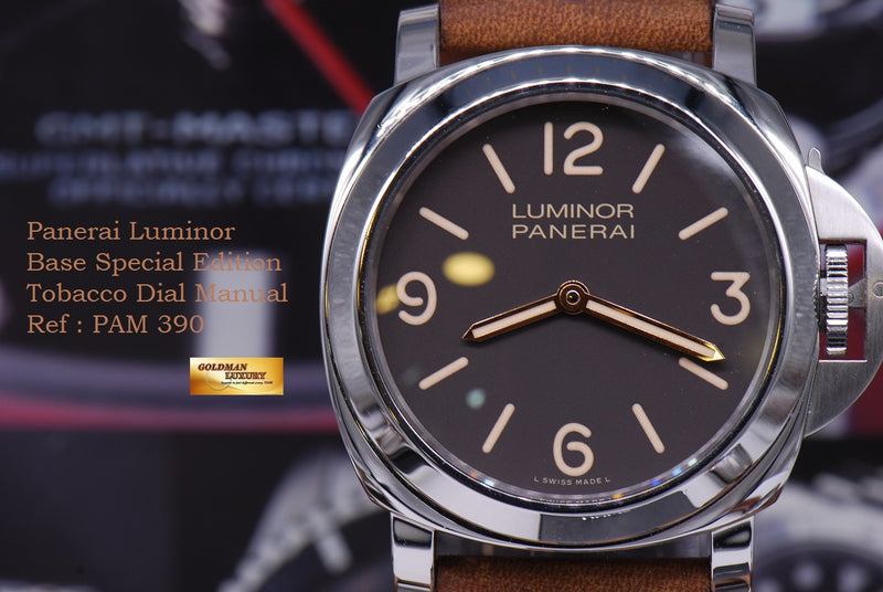 products/GML1262_-_Panerai_Luminor_Base_Tobacco_Dial_PAM_390_MINT_-_14.JPG