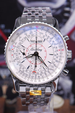 [SOLD] BREITLING MONTBRILLANT CHRONOGRAPH 43mm DAY-DATE-MONTH A21330 (MINT)