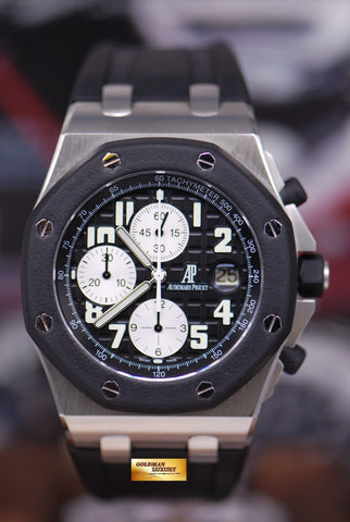 [SOLD] AUDEMARS PIGUET ROYAL OAK OFFSHORE RUBBER CLAD AUTOMATIC BLACK (NEAR MINT)