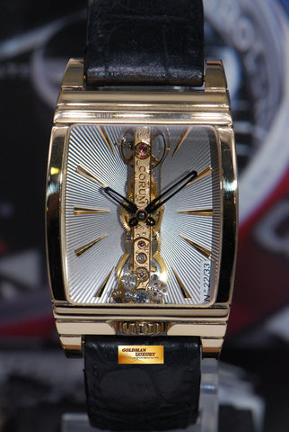 [SOLD] CORUM GOLDEN BRIDGE 18K YELLOW GOLD MANUAL LIMITED EDITION (NEAR MINT)
