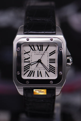 [SOLD] CARTIER SANTOS 100 MIDSIZE AUTOMATIC (MINT)
