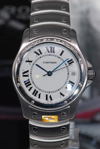 [SOLD] CARTIER SANTOS RONDE 33mm AUTOMATIC Ref : 1920.1 (MINT)