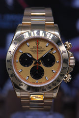 ROLEX OYSTER PERPETUAL DAYTONA 18K YELLOW GOLD Ref : 116528 (MINT) (UNDER 5 YEARS WARRANTY)