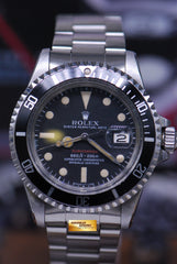ROLEX OYSTER PERPETUAL RED SUBMARINER Ref 1680 (VINTAGE)