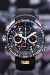 GIRARD PERREGAUX BMW ORACLE RACING USA 87 TITANIUM CHRONOGRAPH AUTOMATIC LIMITED (MINT)